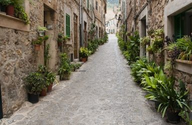 Calle en Valdemossa